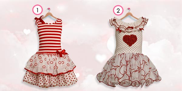 girls valentine's dresses