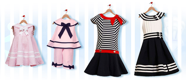 Children's Nautical Looks Set 2
