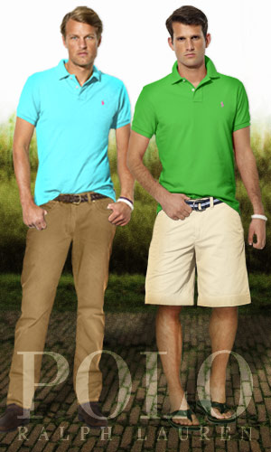 spring men's polo sets