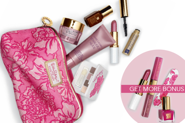 Estee Lauder and Lilly Pulitzer Spring Gift With Purchase
